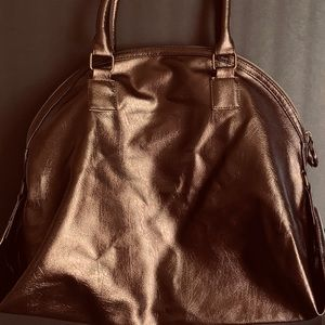 Lancôme Metallic Dark Brown travel bag/Shoulder